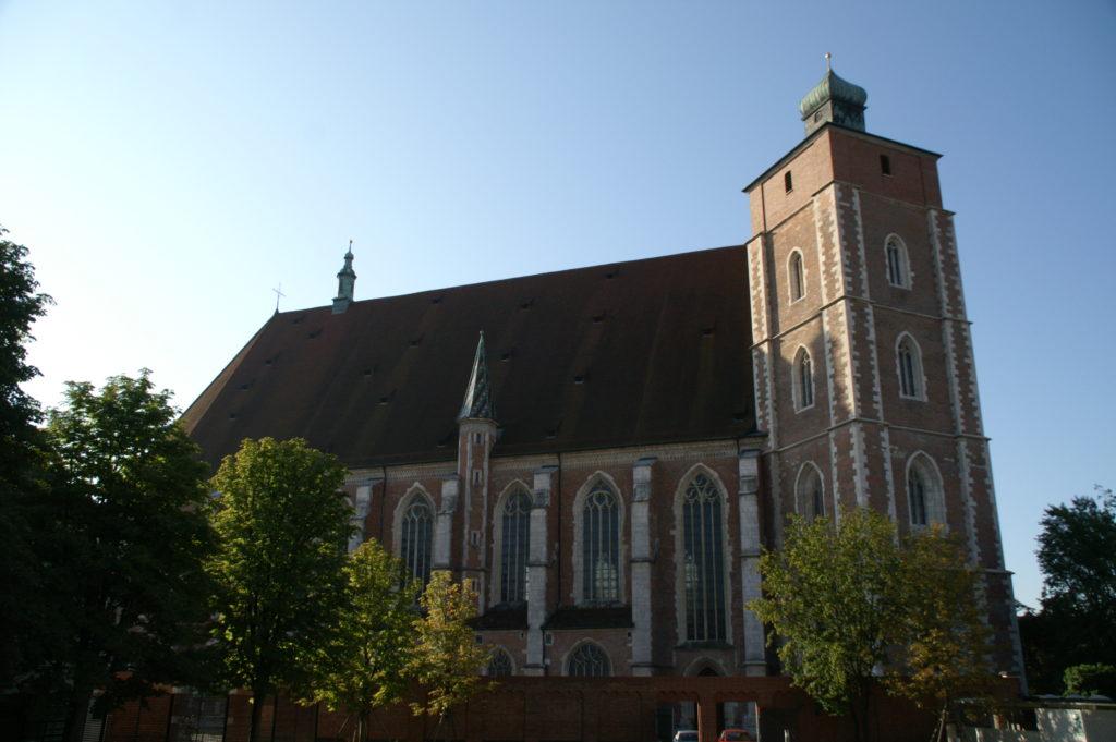 Die Nordseite des Münsters