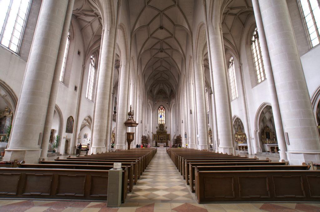 Das Münster von innen - Mittelschiff