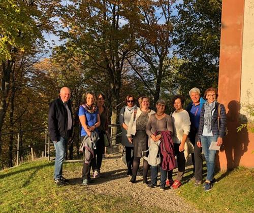 06.10.2018 Kreuzwegwanderung bei herrlichem Herbstwetter am Frauenberg in Eichstätt